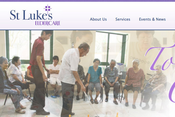 St Luke's Eldercare Website